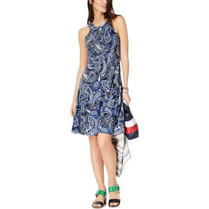 Tommy Hilfiger  Printed Daytime Party Dress  $99